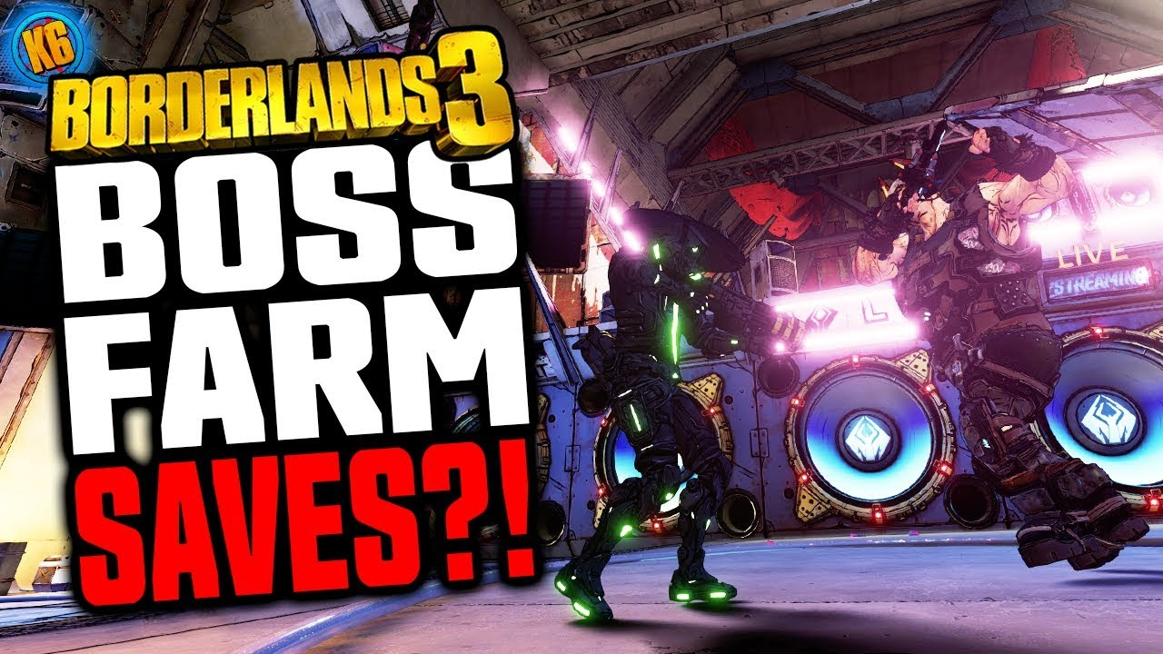 Borderlands 3 - SUPER FAST BOSS SAVE POINTS! QoL Upgrade!