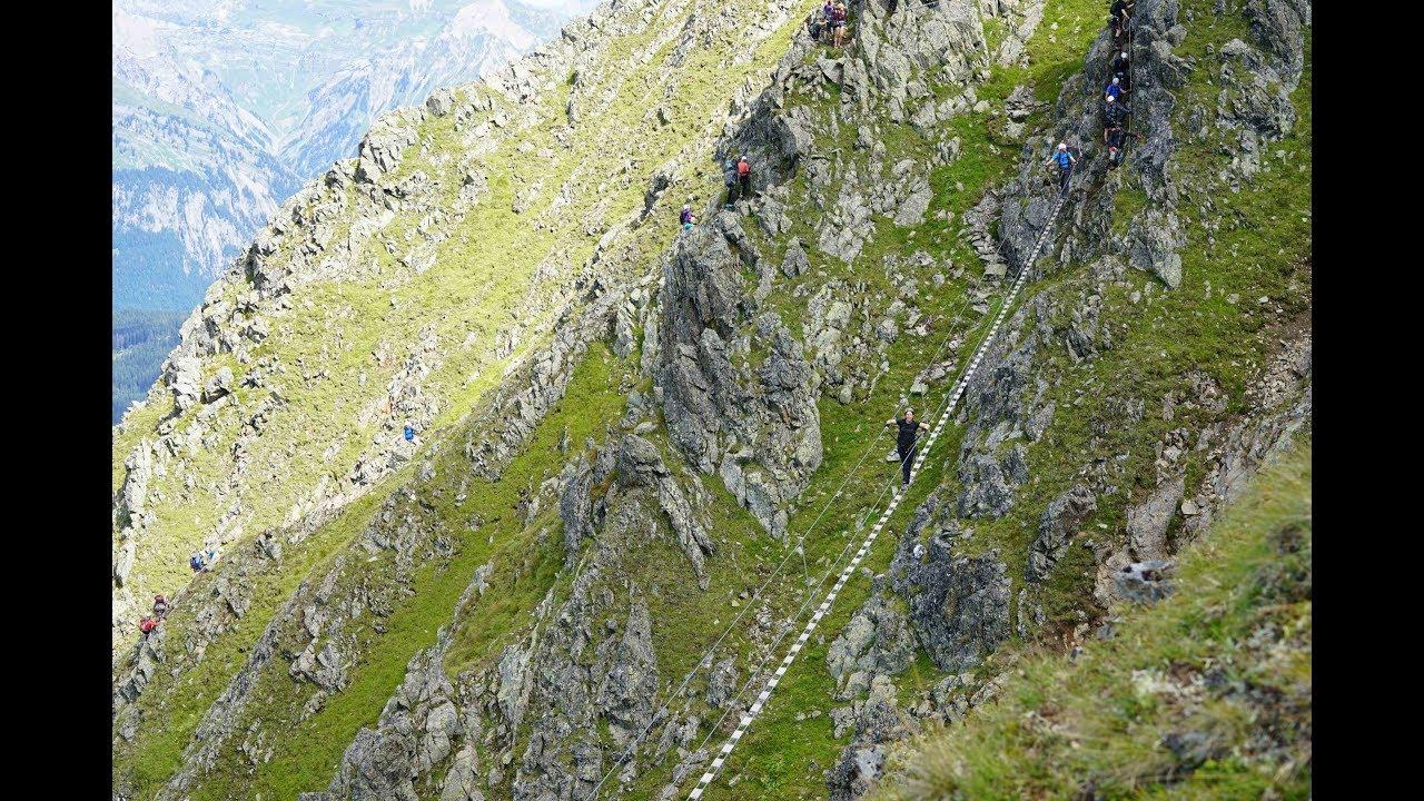 Klettersteig Hochjoch : Naturfreunde auf dem klettersteig hochjoch bludenz vol at