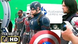CAPTAIN AMERICA: CIVIL WAR (2016) Behind the Scenes #2 [HD] Marvel
