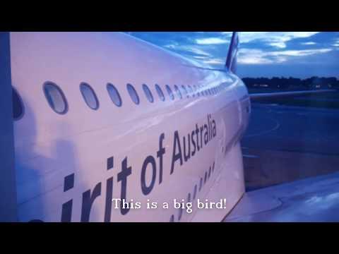 Qantas QF2 A380 Singapore to Sydney Business Class
