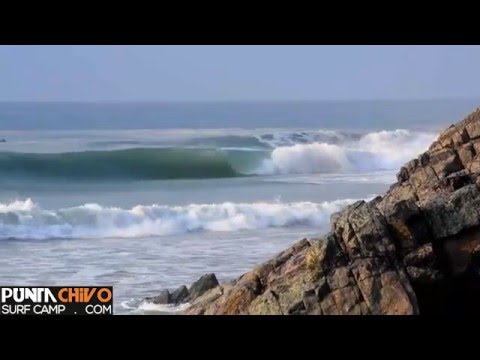 SALINA CRUZ, MEX. EPIC SURFING - PUNTA CHIVO SURF CAMP