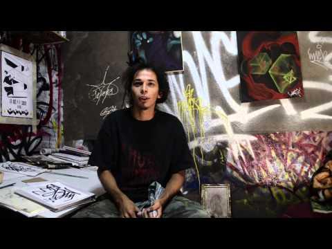 Escritor de graffiti