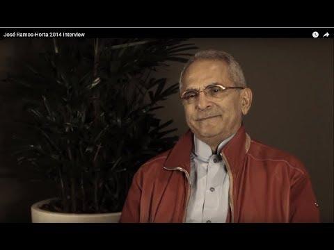 José Ramos-Horta 2014 Interview