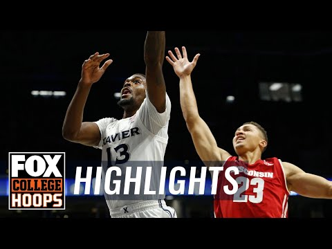 Wisconsin Badgers - Video Highlights: MBB: Wisconsin 77, Xavier 68