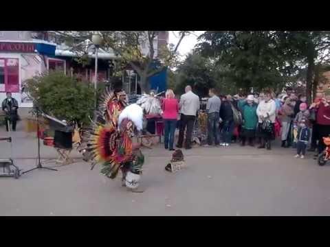Индейцы из Эквадора в Витебске