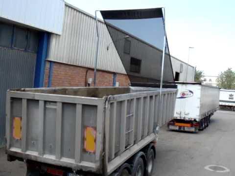 Toldos enrollables para camiones doovi for Toldos para camiones