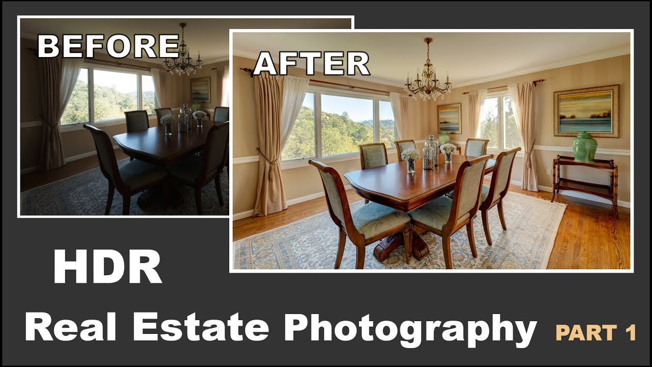 photographing a real estate interior with bright windows tutorial