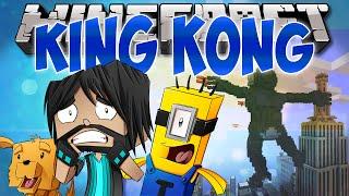 KING KONG ATTACKS DISNEY!! | Think's Lab Minecraft Mods [Minecraft Roleplay]