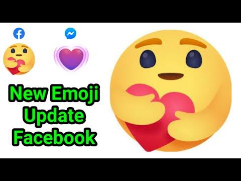 How To Get New Facebook Emoji Facebook Hug Reaction Facebook Care Reaction   Facebook New Emoji