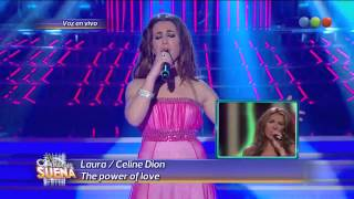 Laura Esquivel como Celine Dion - Tu Cara Me Suena (Gala 14)