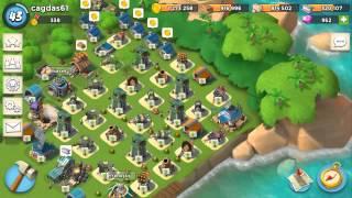 Boom BEACH/oynuyoruz/Savaşçılarla nasıl oynanır/bekleme yok saldırılar son gaz