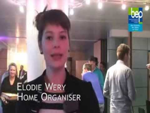 nec 2013 t moignage d 39 elodie wery home organiser youtube. Black Bedroom Furniture Sets. Home Design Ideas
