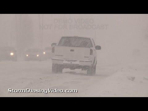 3/3/2015 Grand Rapids, MI Heavy AM Snow & Sleet