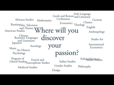 What's Your Major? - Notre Dame's College of Arts and Letters