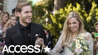 YouTuber PewDiePie Marries Longtime Love Marzia Bisognin: 'I'm The Happiest I Can Be'