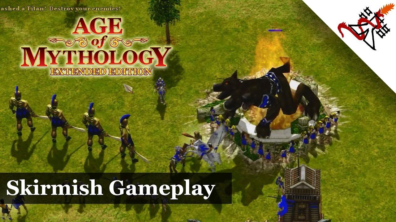 Age of Mythology: Extended Edition Skirmish Gameplay