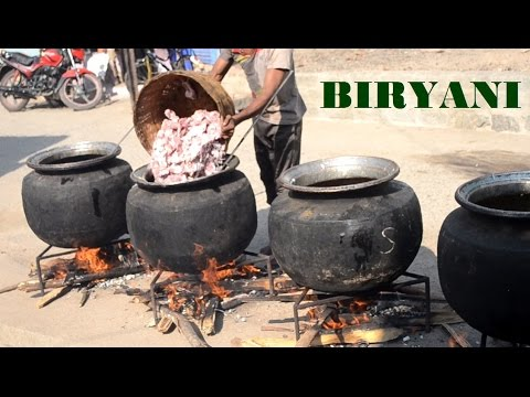 Indian MUSLIM Marriage MUTTON BIRYANI Prepared 700 People & STREET FOOD