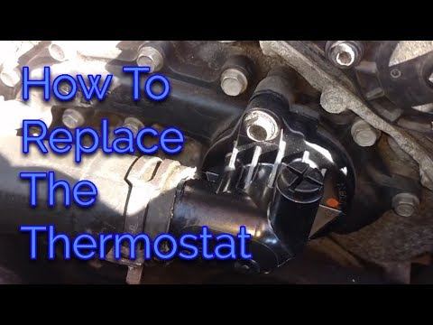 How To Replace the Thermostat . 2013 Dodge Charger V6.