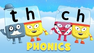 Learn to Read | Phonics for Kids | Letter Teams - TH and CH
