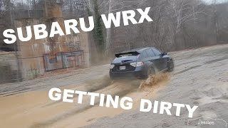 2014 Subaru WRX Hatchback - Mud Pit Drifting, Donuts, and Fun!
