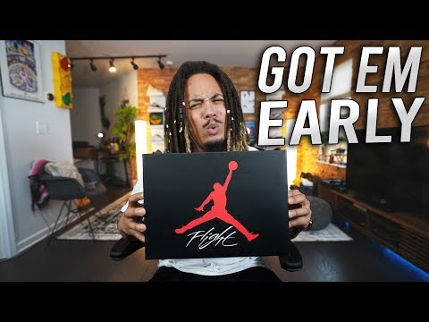 0fc8f88ca3 SOMEONE COME GET THESE !!! EXCLUSIVE SNEAKER UNBOXING !!! - YouTube
