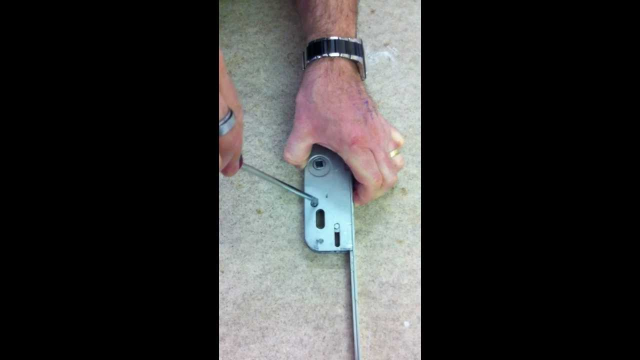 How To Rehand A Ferco Multipoint Lock Www