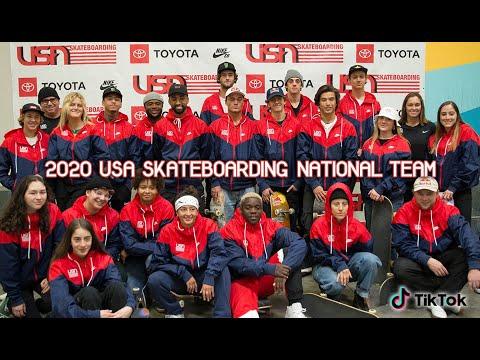 USA Skateboarding 2020 National Team | Media Day