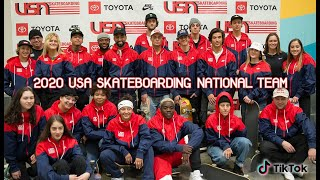 USA Skateboarding 2020 National Team | Media Day