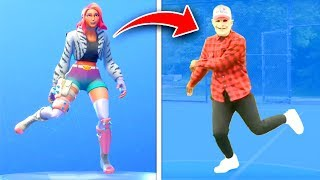 Top 10 Fortnite Dances IN REAL LIFE! (Fortnite Battle Royale Season 9)