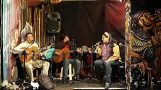 """Para vivir (Carlos Sivila). Dennise Gálvez, Carlos Sivila, Marcelo Gonzales, Luis """"Moro"""" Garzón."""