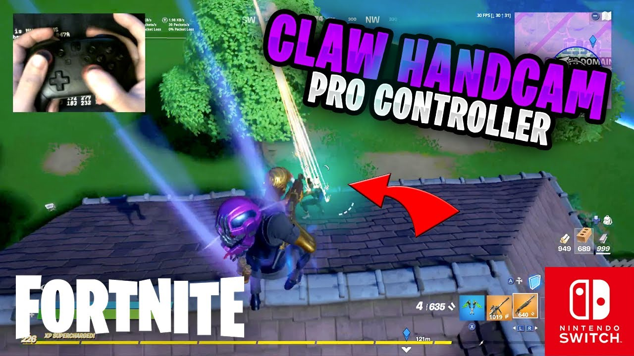 Fortnite on the Nintendo Switch Pro Controller #202