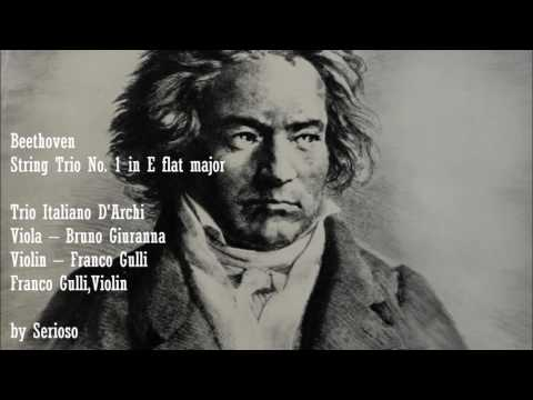 Beethoven, String Trio No  1 in E flat major