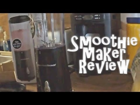 Hamilton Beach Single Serve Blender Smoothie Joy Review