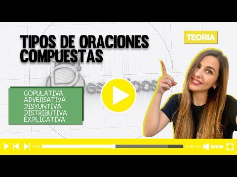 ANÁLISIS DE CINCO ORACIONES COMPUESTAS from YouTube · Duration:  12 minutes 6 seconds