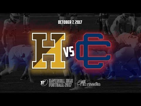 Haverhill High Football vs Central Catholic - October 7, 2017