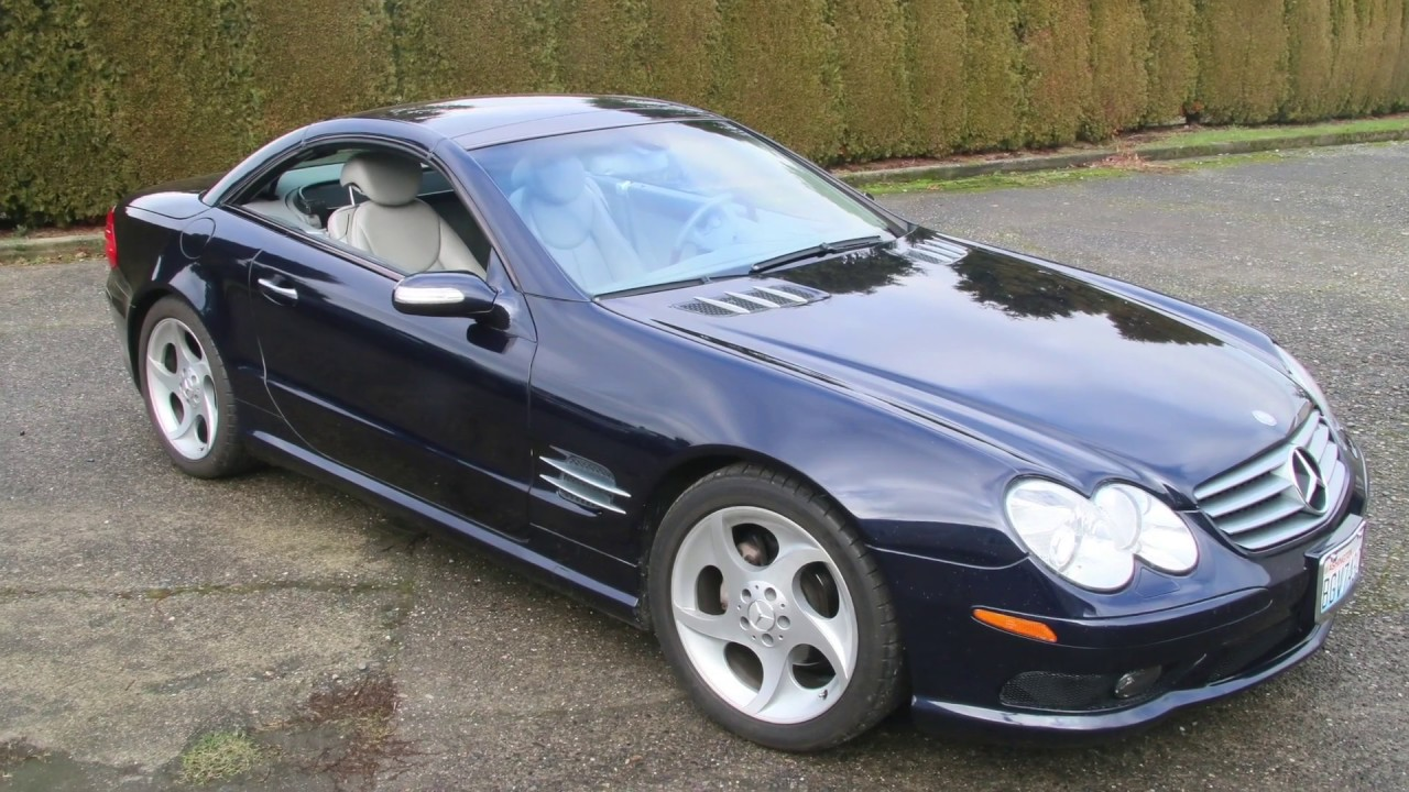 Mercedes Sl500 Why Two Batteries And How To Protect Them Youtube