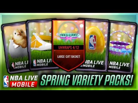 Download] NBA LIVE MOBILE SPRING EASTER Download Full VARIETY PACK ...