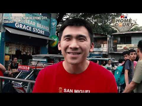 PBA Homecourt: Brgy. Mauway, Mandaluyong City | Feb 12, 2019