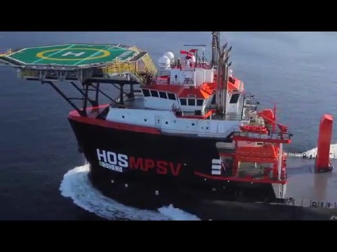 HOS WARLAND Launch and Sea Trials