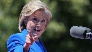Things Get Hairy as Clinton Attacks Trump at DNC Meeting