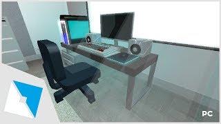 ROBLOX Studio | [SpeedBuild] Working PC With Setup