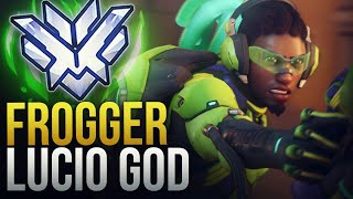 "Best Of ""Frogger"" DPS Reddit Lucio - Overwatch Montage"