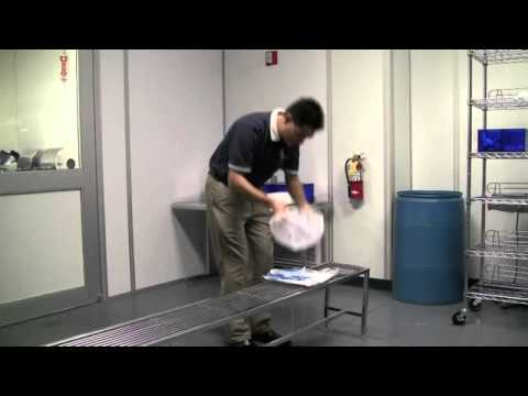 Cleanroom Cleaning - Gown Procedures - Pegasus Building Services