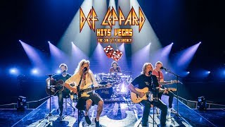 We've never played it in front of an audience - Def Leppard Hits Vegas