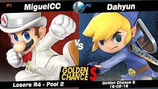 Golden Chance S: MiguelCC (Mario) vs B2G NF   Dahyun (Toon Link) - Pool 2 LR4 Video