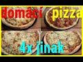 Pizza po domácku 4x jinak