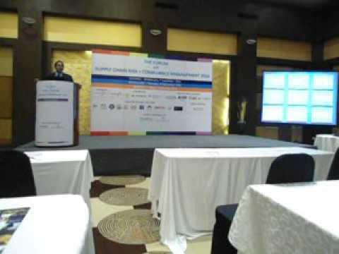 Mr. Ramesh Mamidala The Forum on Supply Chain Risk + Compliance Management 2016, Chennai 7 Sept.