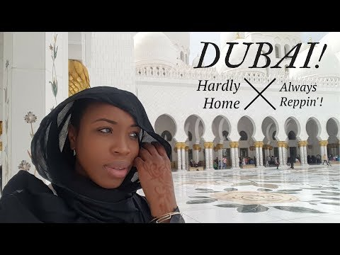 Doing it In Dubai! My First Group Trip w/ Hardly Home!