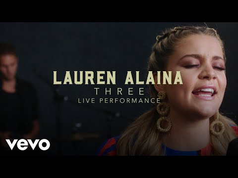 Lauren Alaina - 'Three' Official Performance Video | Vevo