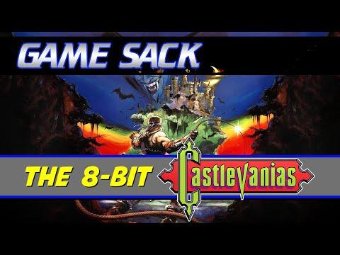 The 8-Bit Castlevanias - Game Sack